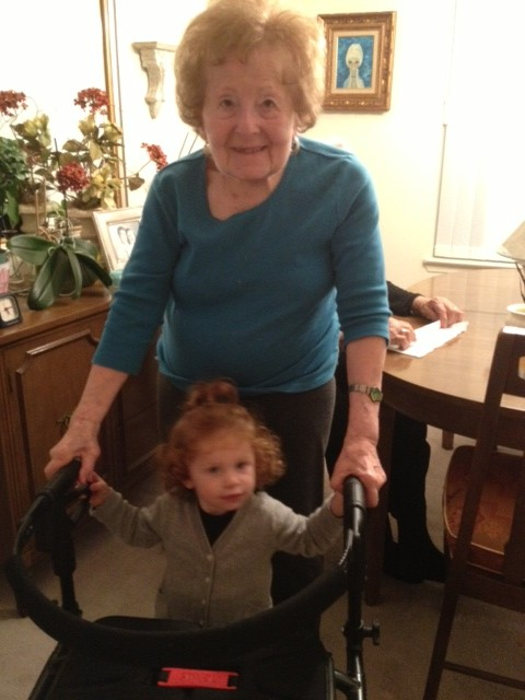 Princess Peach and Bubby (one of her great-grandmothers)