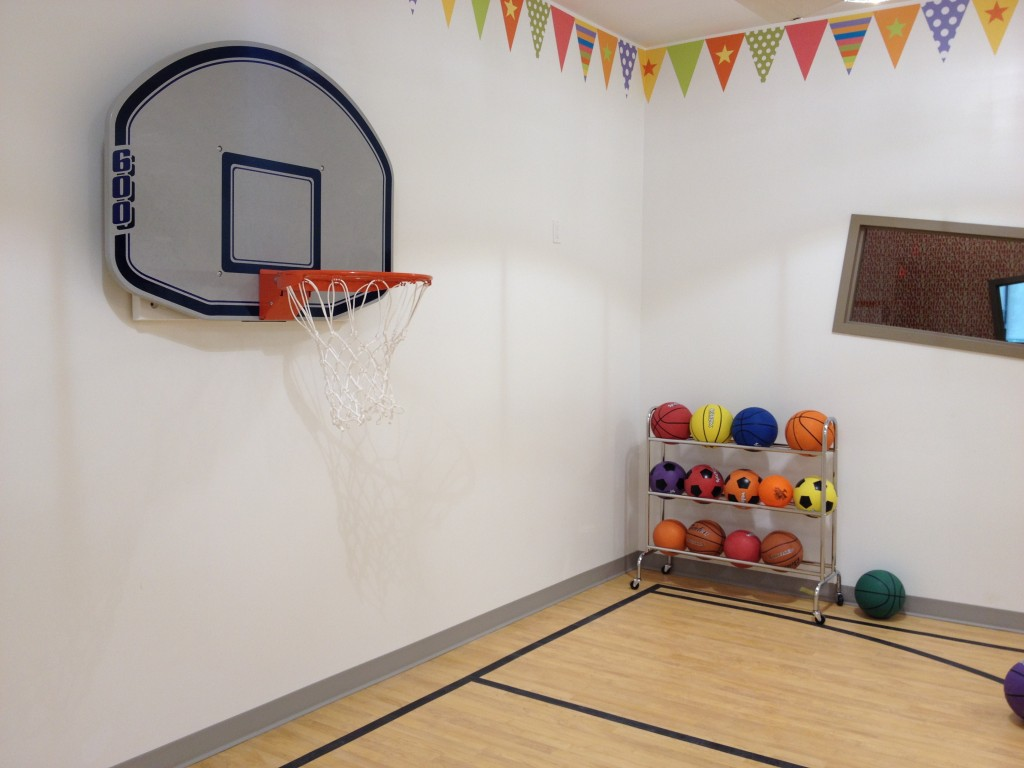 Sports gym for Basketball