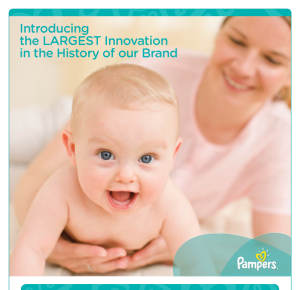 Pampers largest innovation