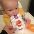 Baby Eating Love Child Organics pouch
