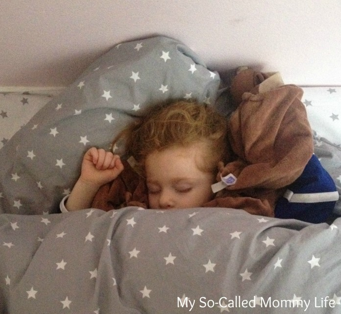 napping toddler