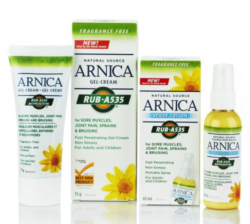 Arnica Rub A535