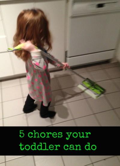 toddler chores