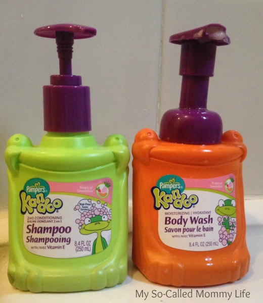 Kandoo Body Wash and 2-in-1 conditioning Shampoo