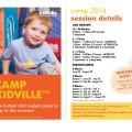 Kidville Toronto Camp Info