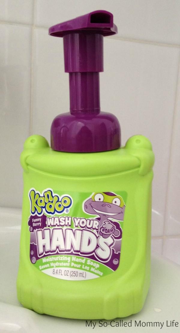 kandoo foaming hand soap toilet training essential