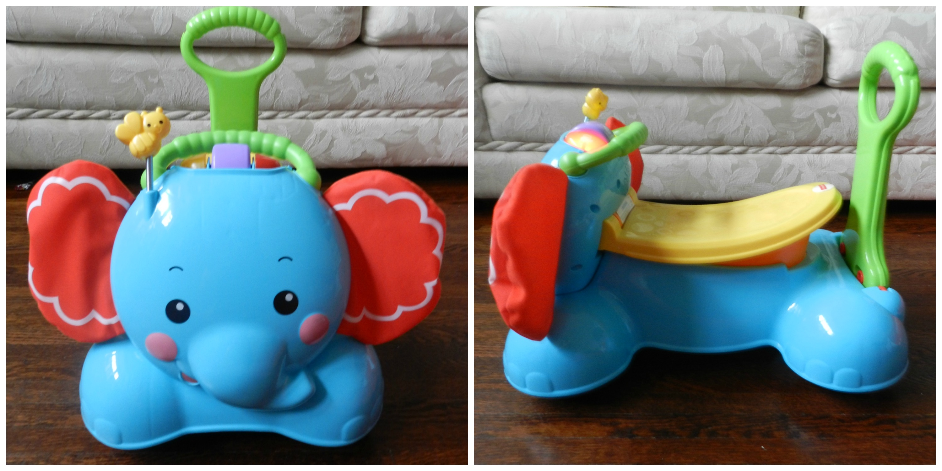 Fisher Price 3 in 1 Bounce Stride & Ride Elephant fpHotToys My
