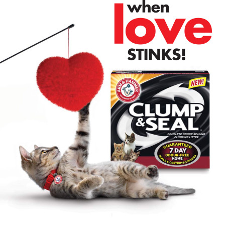 Arm and Hammer Clump & Seal