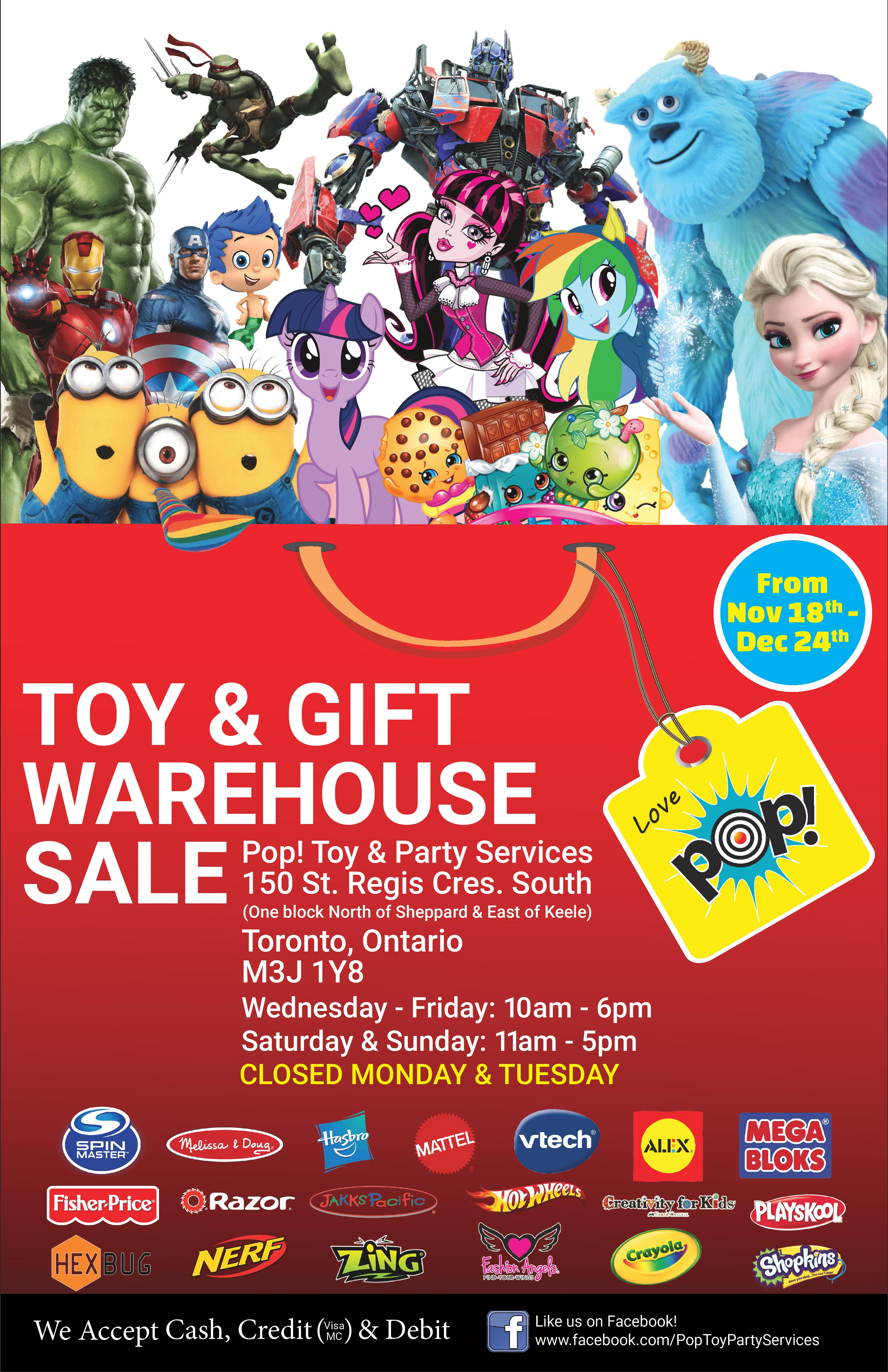 Amazing deals at the Pop Toy and Gift Sale My So Called Mommy Life