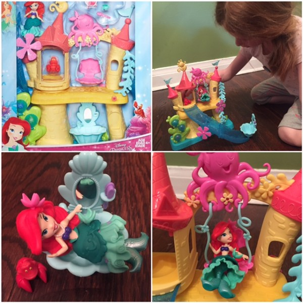 Disney Princess Little Kingdom Ariel's Sea Castle My So-Called Mommy Life