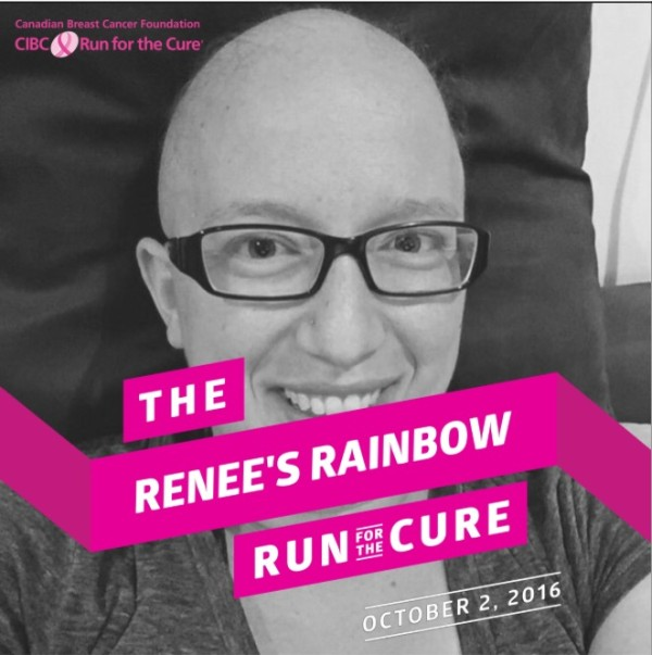 CIBC Run for the Cure Renee's Rainbow
