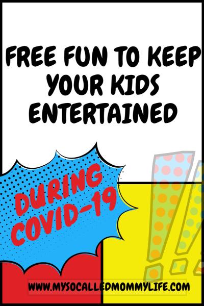 free fun kid covid19 coronavirus